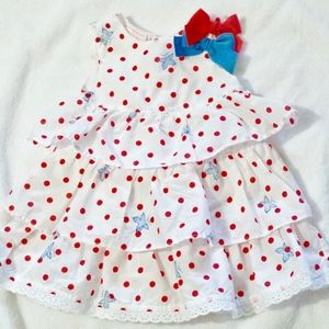 FIRST IMPRESSIONS INFANT 4TH JULY DRESS